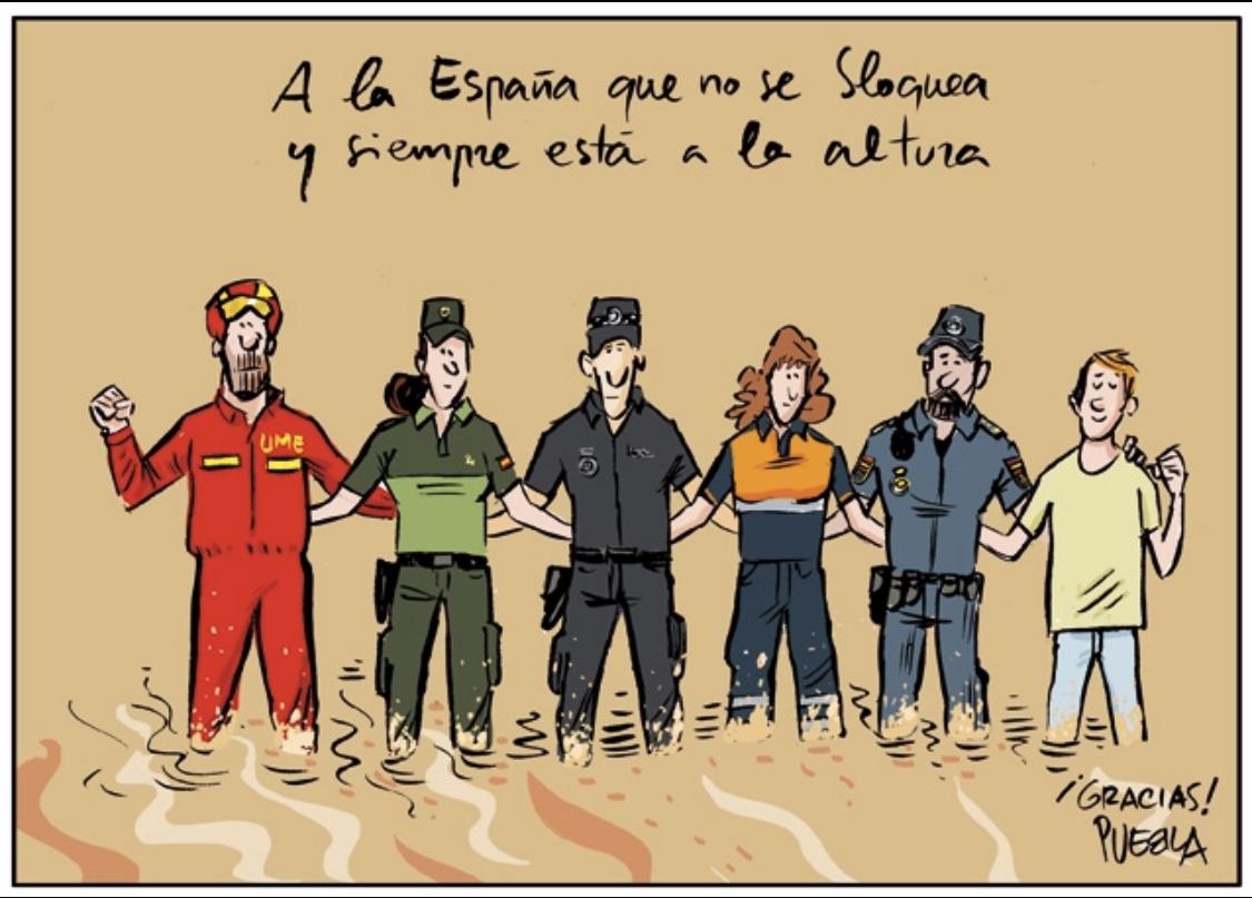 Ilustración de Puebla @PUEBLAdibujante